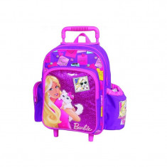 Troler gradinita Barbie Cat - Set rechizite BTS