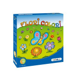 Joc Florile Colorate - Joc board game Beleduc