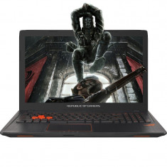 Laptop ASUS Gaming 15.6'' ROG GL553VD, FHD, Core i7-7700HQ, 8GB DDR4, 1TB, GTX 1050 4GB, W10 Home, Black metal