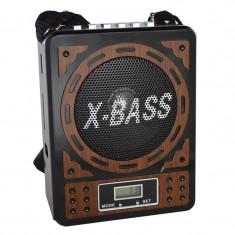 Radio portabil cu ceas Waxiba XB-916CU, mufa jack - Aparat radio