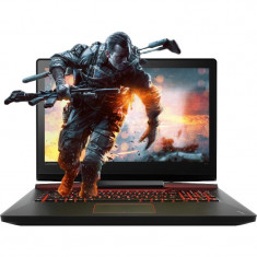 Laptop Lenovo 17.3'' IdeaPad Y910, FHD, Intel Core i7-6820HK, 32GB DDR4, 1TB+512GB SSD, GTX 1070M 8GB, Win 10 Home, Black
