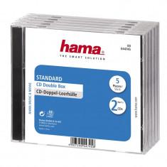 Set carcase duble CD Hama, 5 bucati