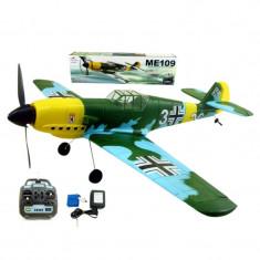 Avion ME-109, raza 300 m, telecomanda - Avion de jucarie