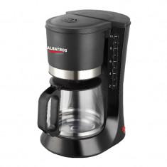 Filtru de cafea Delice Albatros, 10 cesti, 680 W, Negru - Cafetiera