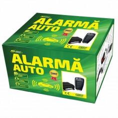 Alarma auto Ro Group, LED, functie panica - Inchidere centralizata Auto