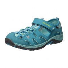 Sandale inchise pentru copii Merrell Hyidro H2O Hiker Sandal Turq (MRL-MY56509) - Sandale copii Merrell, Marime: 27, 29, 32, 33, 35, 36, 37, 38, 39, Culoare: Albastru, Fete