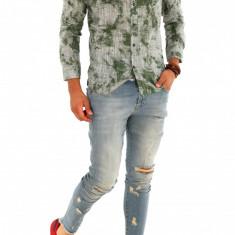 Camasa - camasa barbati - camasa slim - camasa fashion - cod 8776, Marime: XXL, Culoare: Din imagine, Maneca lunga