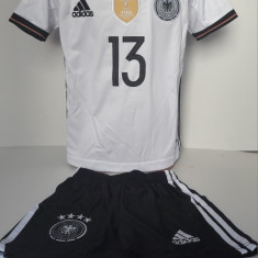 Echipamente fotbal pentru copii Germania Muller model nou alb - Echipament fotbal, Marime: Alta