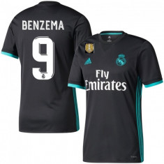 Tricou   FC REAL MADRID 9 BENZEMA model nou sezon 2017-2018