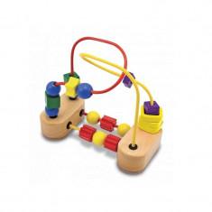 Roller-coaster cu margele - Jocuri Forme si culori