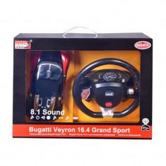 Masina Bugatti cu volan