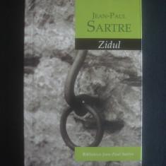 JEAN PAUL SARTRE - ZIDUL - Roman, Rao