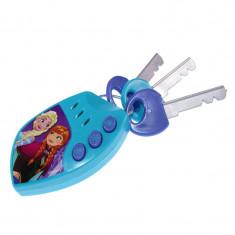 Chei auto pentru copii Frozen, sunete reale