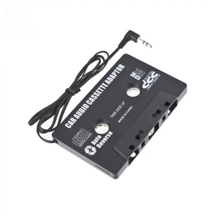 Set adaptor caseta audio, cablu 20 cm, mufa jack 3.5 mm