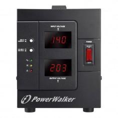 Stabilizator de tensiune PowerWalker, 2000 VA, 2 x Shuko - Stabilizator tensiune
