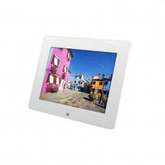 Rama foto cu telecomanda Pissarro Rollei, 8 inch, Alb - Rama foto digitala