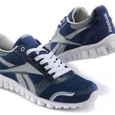 Adidasi originali REEBOK REALFLEX - Adidasi barbati Reebok, Marime: 40, Culoare: Albastru