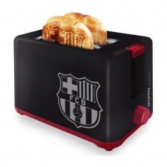 Prajitor de paine FC Barcelona Taurus, 2 felii, 750 W, Negru