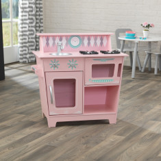 Bucatarie pentru copii Classic Pink KidKraft