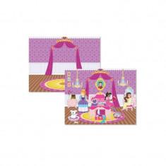 Abtibilduri castelul printesei - Jocuri Forme si culori