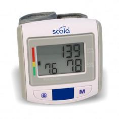Tensiometru digital de incheietura Scala, LCD, 2 x 50 memorii