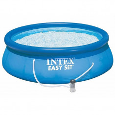Piscina Easy Set Intex, 244 cm x 76 cm, sistem filtrare inclus