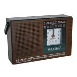 Radio cu ceas Waxiba XB-781C, 5 benzi