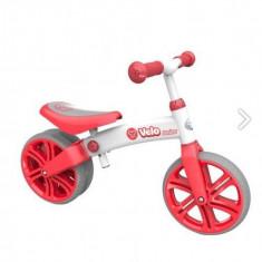 Bicicleta fara pedale Yvelo Junior Rosu YBike - Bicicleta copii