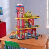 Set de joaca Deluxe Garage - Kidkraft, Lemn
