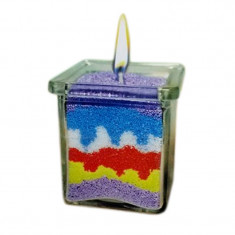Set confectionare lumanari decorative, 5 culori