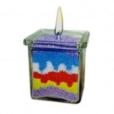 Set confectionare lumanari decorative, 5 culori - Jocuri Forme si culori