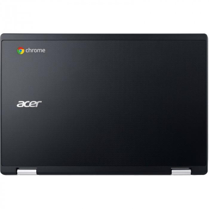 Laptop Acer 11.6'' Chromebook R11, HD, Intel Celeron Dual Core N3050, 2GB, 32gb eMMC, GMA HD, Chrome OS, Black, no ODD foto mare