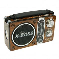 Radio portabil Waxiba XB-122URT, 3 benzi, Maro - Aparat radio