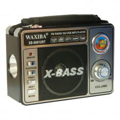 Radio portabil Waxiba XB-6061URT, lanterna incorporata - Aparat radio