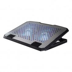Cooler notebook Pad Hama, 13.3-15.6 inch, USB, Argintiu - Masa Laptop
