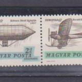 Magyar Posta - Timbre Ungaria - Serie 1967, AVIATIE AEROFILA nestampilate - Timbre straine