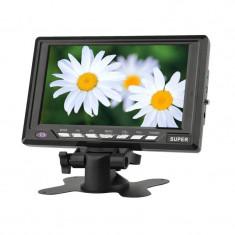 Televizor si monitor LCD DA701C, 7.8 inch - Monitor Auto