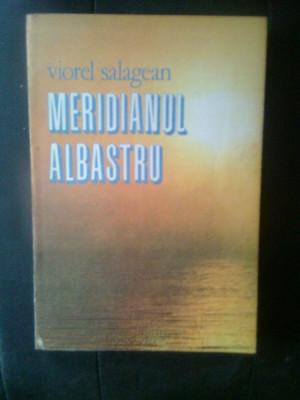 Viorel Salagean - Meridianul albastru (Editura Sport-Turism, 1989) foto