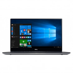 Ultrabook DELL 15.6'' XPS 15 (9550) UHD Touch InfinityEdge, Core i5-6300HQ, 8GB DDR4, 256GB SSD, GTX 960M 2GB, W10 Home, Silver - Laptop Dell