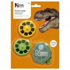 Aparat diapozitive dinozauri, Natural History Museum