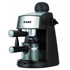 Espressor Zass, 800 W, 4 cesti, 3.5 bari