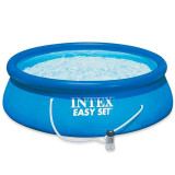 Piscina Easy Set Intex, 305 x 76 cm, pompa filtrare apa inclusa