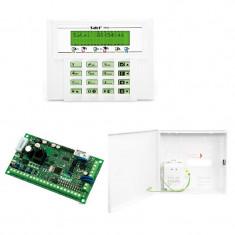 Kit sistem de alarma cablat Satel Versa 5, tastatura LCD