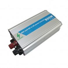 Invertor 12-220 V, putere 800 W, protectie termica