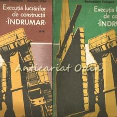 Executia Lucrarilor De Constructii. Indrumar I, II - Sebastian Tologea - Carti Constructii