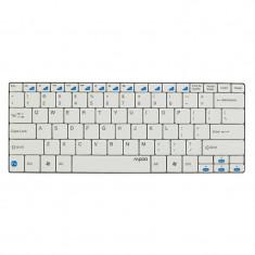 Tastatura bluetooth E6100 Rapoo, Alb - Tastatura PC