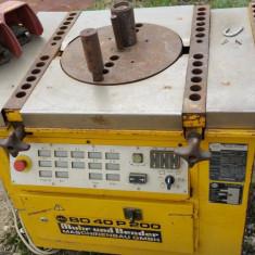 Masina nemteasca de indoit otel beton