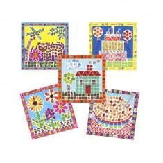 Desene mozaic - Jocuri Litere si Cifre Alex Toys