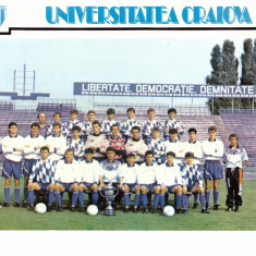 Poza mare echipa Universitatea Craiova, 1992