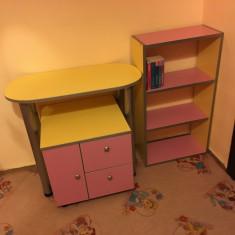Mobila copii fete - Set mobila copii